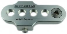 FA 4/20 L (80 mm Verkürzung 9/16-20 Gang)